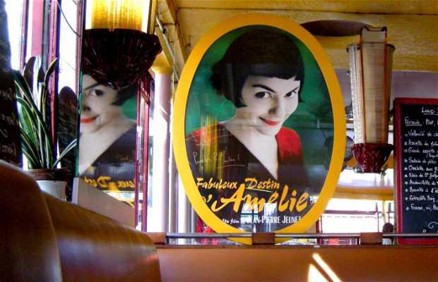 Café Les Deux Molins - El café de Amelie