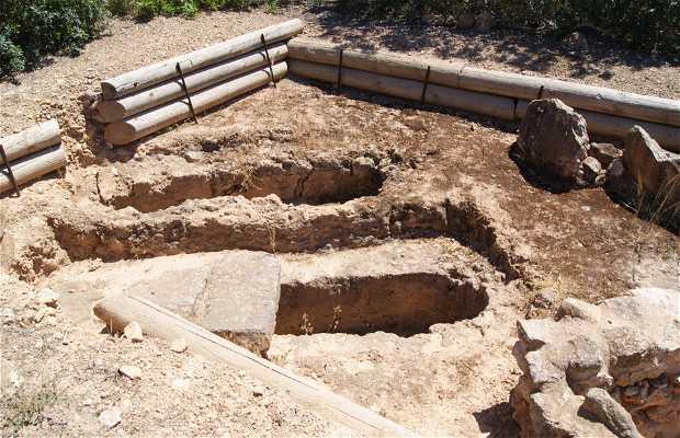 Necrópolis bizantina y taller de púrpura, Pla de ses Figueres