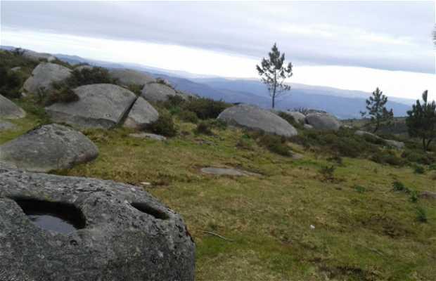 Panorámica del monte Castrove