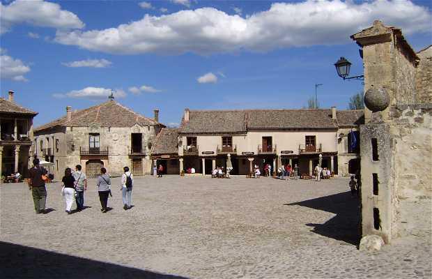 Main square of Pedraza