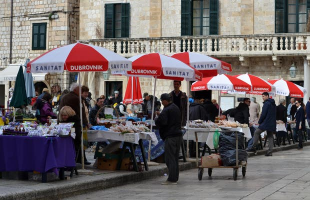 Mercado de la Plaza Gundulic