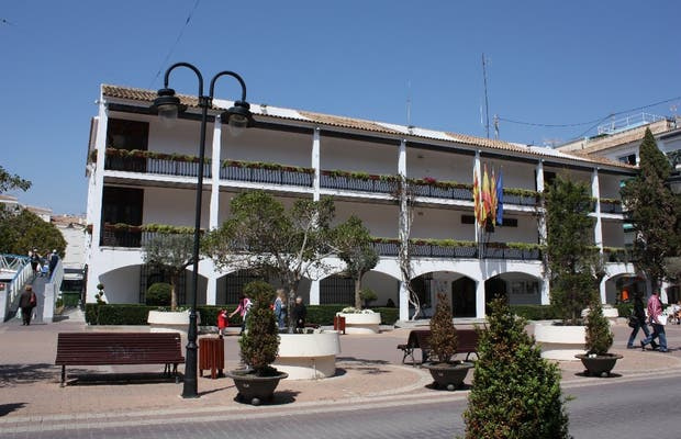 The Altea Town Hall Plaza