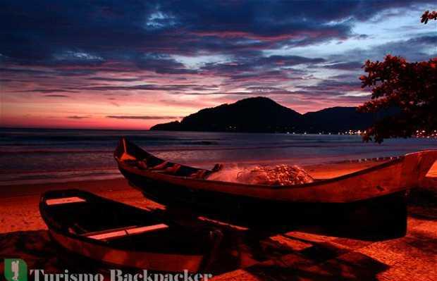 Nascer do sol em Balneário Camboriú
