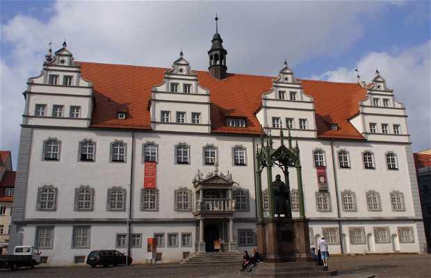 Monumentos conmemorativos de Lutero en Wittenberg