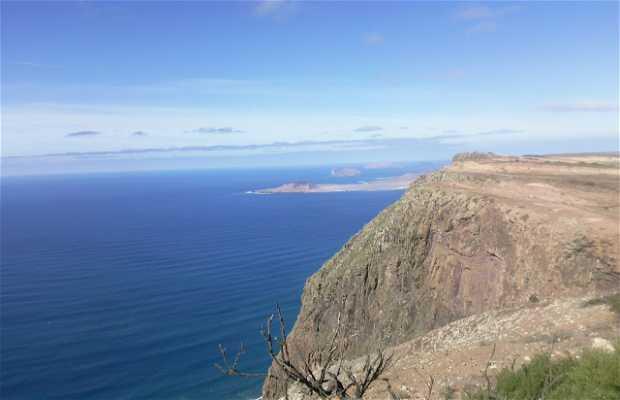 Maguez cliff