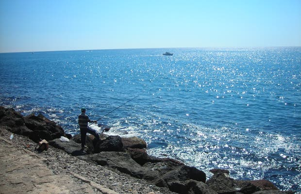 Breakwater of Aguilas