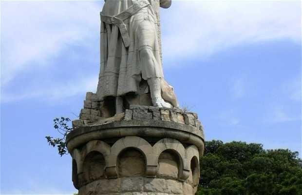 Statue d'Alphonse Ier le Batailleur
