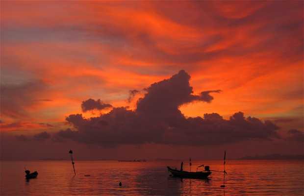 Costa ovest di Samui