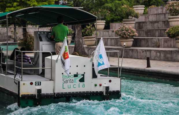 Recorrido en bote por Santa Lucía