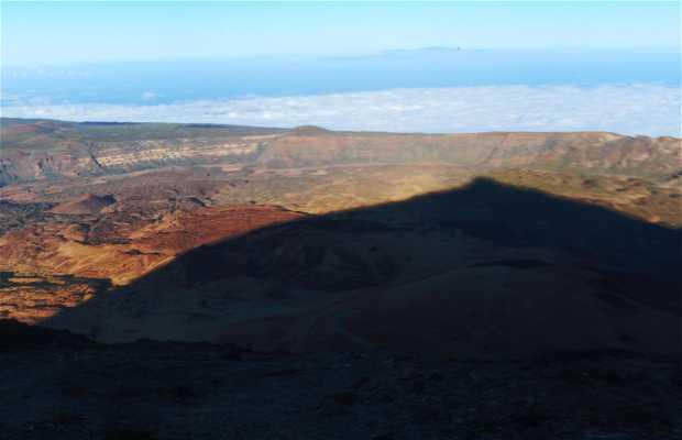 Subida al pico del Teide