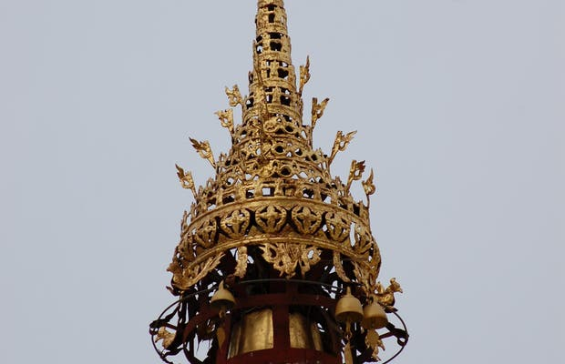 Hti de Shwedagon paya