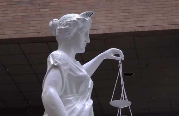 Estatua de Lady Justice