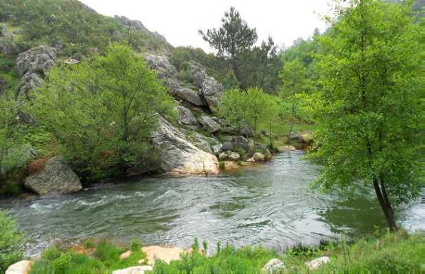 Desfiladero del río Ruecas