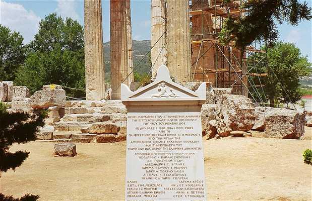Templo de Zeus y Estadio de Nemea