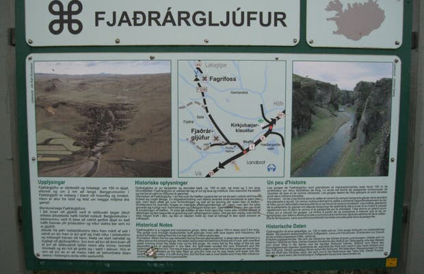 Cañón Fjaðraárgljúfur