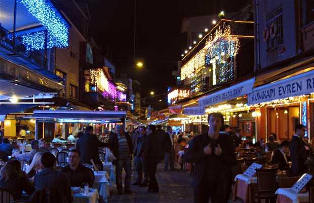 Barrio de Kumpaki, Estambul