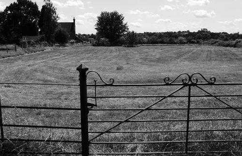 campagne anglaise près de Godinton House