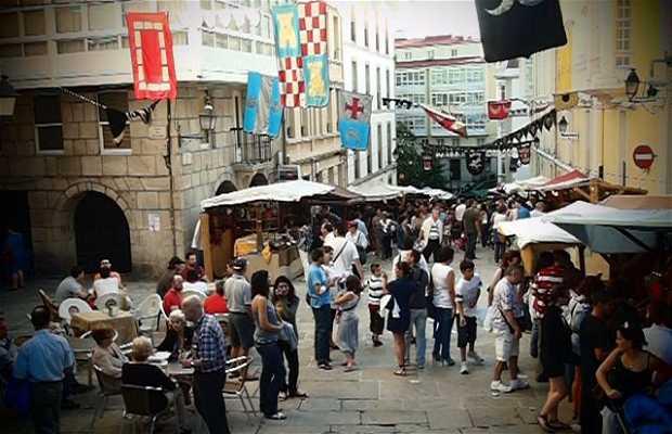 Feira das Marabillas/Mercado Medieval A Coruña