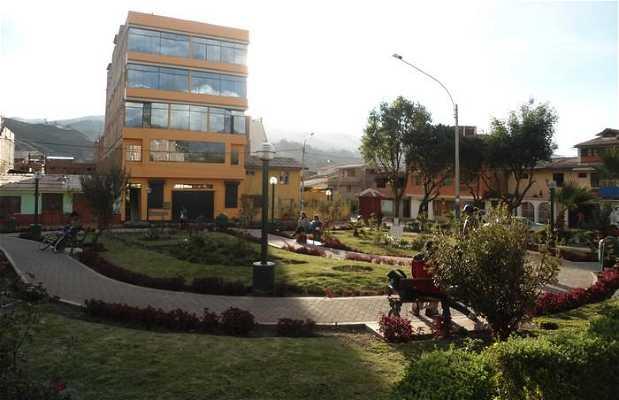 Square of the Avenida Simon Bolivar
