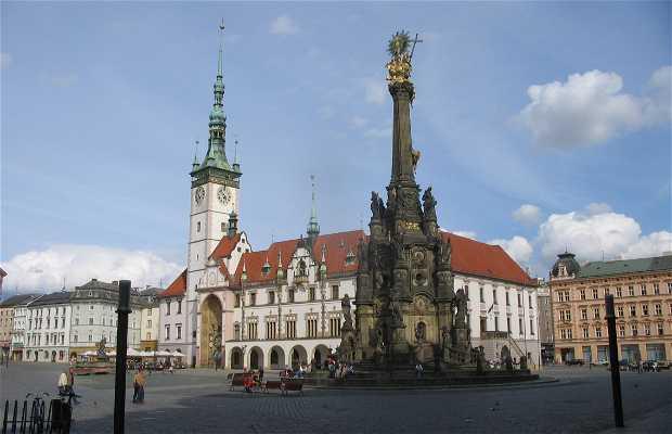 Il centro storico di Olomouc