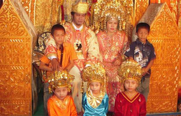 Minangkabau Traditional Wedding in Sumatra