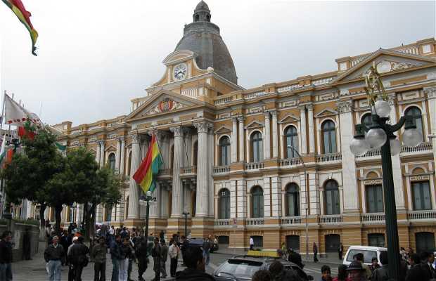 Plaza Murillo a La Paz