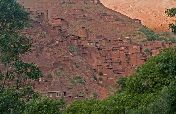 Megdaz, village in the High Atlas of Morocco