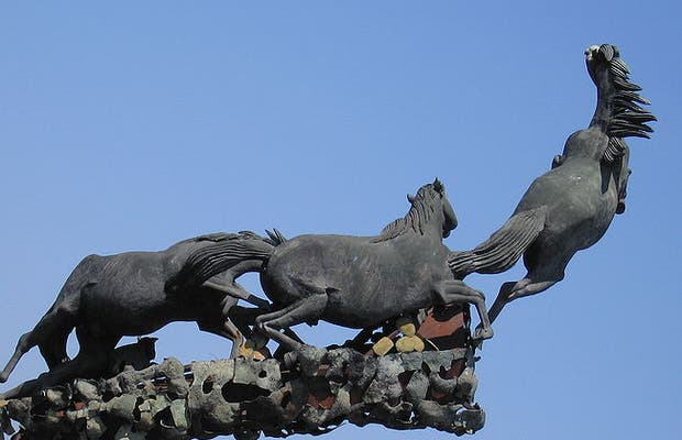 The Monument of Horses