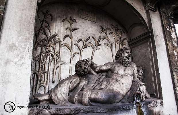 The Quattro Fontane (the Four Fountains)