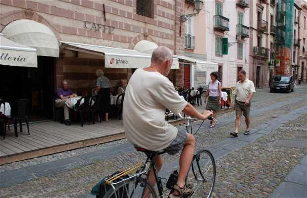 Bicicletas en Cerdeña