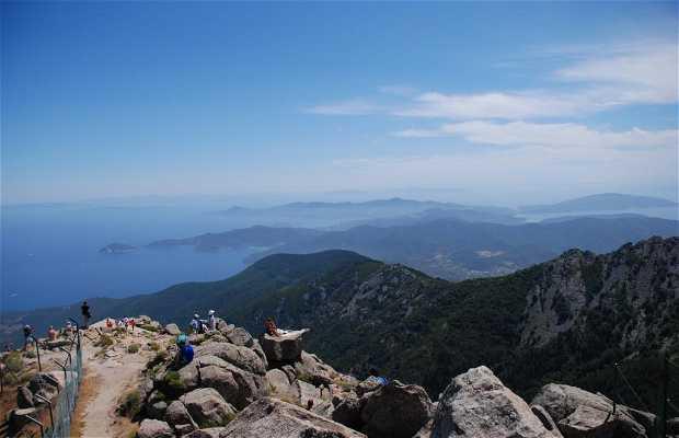 Salita al monte Capanne