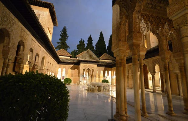 Night Visit to the Alhambra