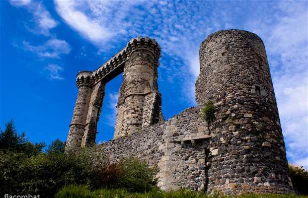 Castillo de Allègre, Allègre, Francia