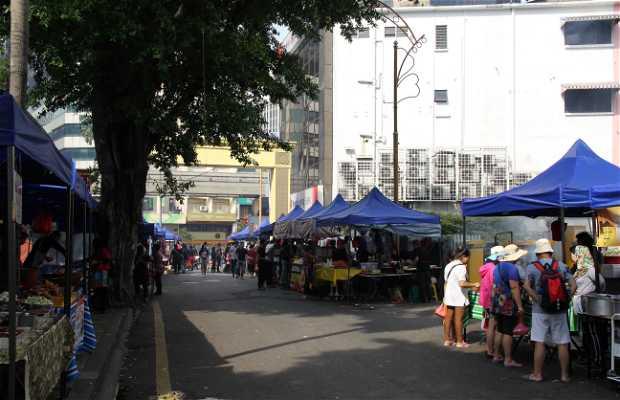 Mercadillo de fin de semana de Bukit Bintang