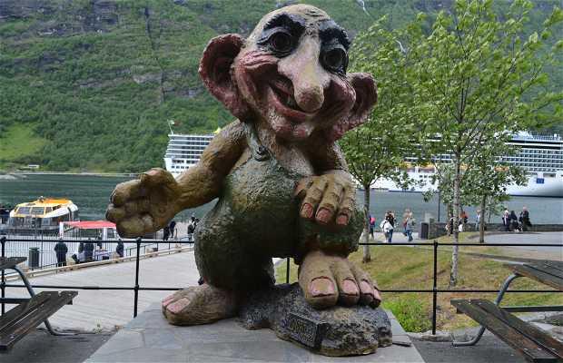 El troll de Geiranger