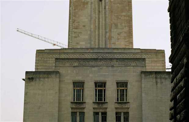 Edificio de ventilación del túnel 'Queensway'
