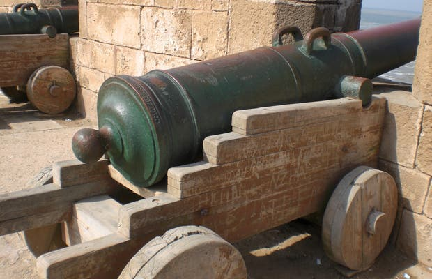 Portuguese cannons