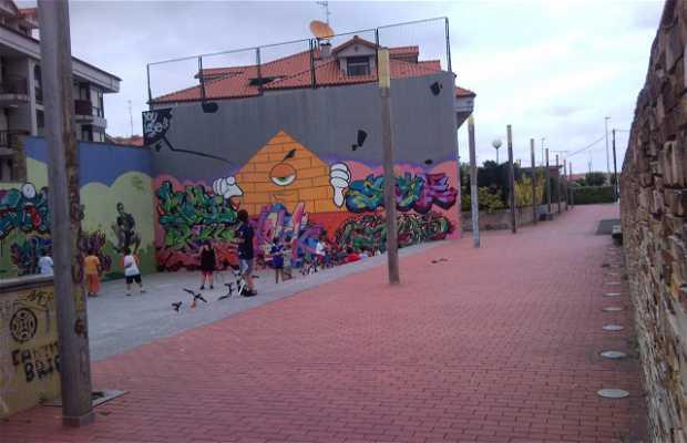 Canchas y Skate en Noja