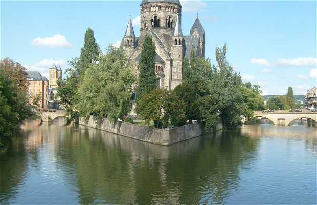 Eglise à Metz - France