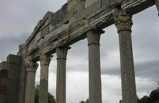Les ruines d'apollonia