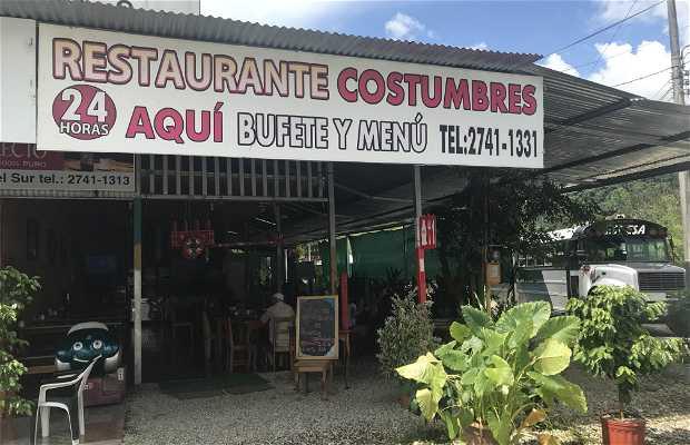 Restaurante Costumbres de mi tierra