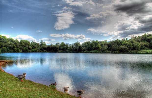 Cabárceno Lake