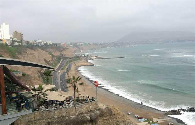 La côte à Miraflores