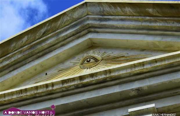 Old Mason temple of Santa Cruz de Tenerife