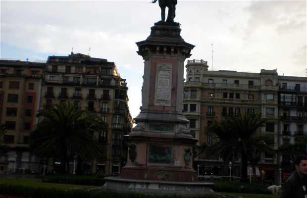 Estatua al Almirante Don Antonio de Oquendo