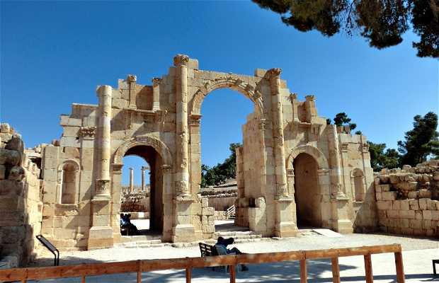 Porta meridionale di Jerash