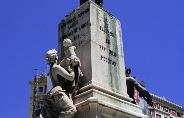 Monumento al Marchese di Larios a Malaga