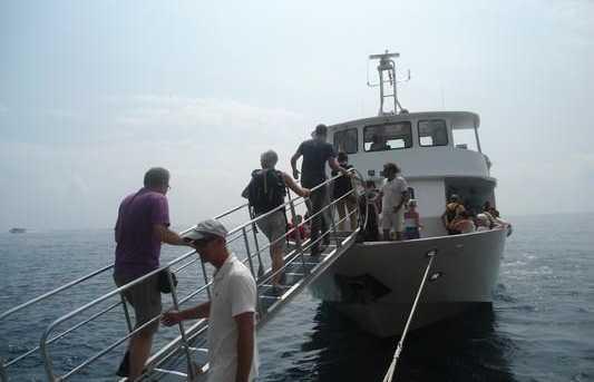 Bateau des Cinque Terre