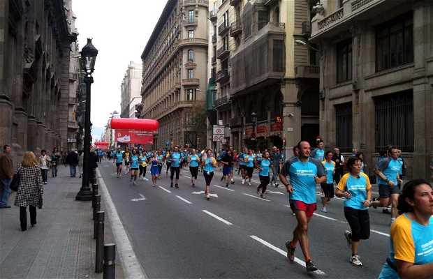 La Cursa Bombers de Barcelona