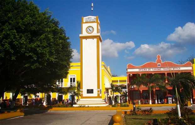 Reloj publico municipal de cozumel